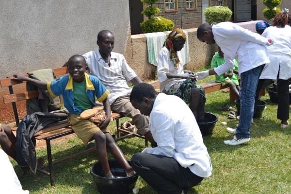 Disease victims turn to Jesus